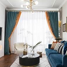 vorhang wohnzimmer moderner vorhang blumen motiv aus chenille f 252 r wohnzimmer
