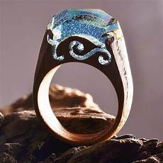 Ethereal Rings Reveal Tiny Landscapes That Encapsulate The