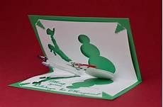 magical snowman pop up card template tarjetas templates