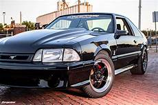 black ford mustang foxbody 5 0 forgestar d5 beadlock wheels