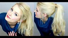 How To Easy Ponytail Tutorial Ootd Tights