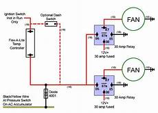 imperial electric fan relay wiring diagram electric fan conversion auto pinterest