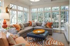 gray and orange living rooms contemporary living room cynthia brooks design