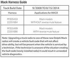 Delphi Pp105487 Mack Branded Heavy Duty Am Fm Mp3 Wma