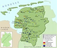 Ostfriesische Inseln Karte - ostfriesland karte