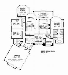 open concept house plans one story one story house plans with split master and open concept