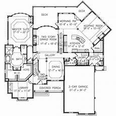 european style house plan 5 beds 4 5 baths 4496 sq ft