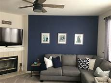 navy wall color is behr in quot english channel quot paint in 2019 accent walls in living room