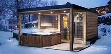 Saunahaus Im Garten - panorama sauna house einrichtung in 2019 saunahaus