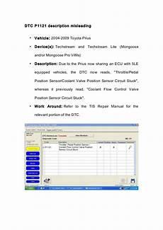 vehicle repair manual 2009 toyota prius parental controls wobd2 toyoto techstream design limitations solved