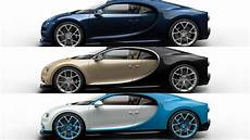 Bugatti Chiron Options by 2017 Bugatti Chiron Possible Colors