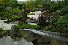 Der Japanische Garten In Hannover Vor Einem Neubau