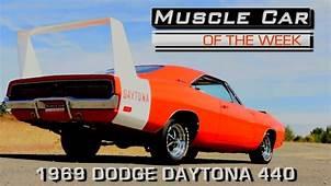 1969 Dodge Daytona 440 Muscle Car Of The Week Video