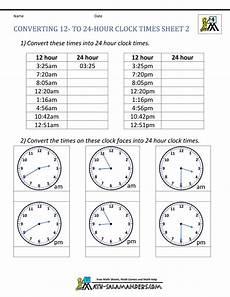 time worksheets for grade 3 cbse 3464 24 hour clock conversion worksheets