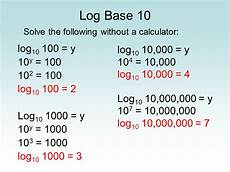 how to solve logarithmic equations without a calculator