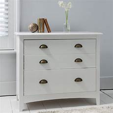 White 3 Drawer Chest Of Drawers by Chest Of Drawers 3 Drawer In White Noa Nani