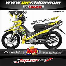 Stiker Motor Jupiter Z1 Keren by Jupiter Z 1 Yellow Racing Stiker Motor Striping Motor