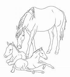 Pferde Mit Fohlen Ausmalbilder Zum Ausdrucken Kostenlos Pferdebilder Zum Ausdrucken Und Ausmalen