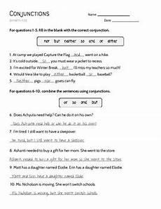 conjunction practice worksheet by miss nic s knacks tpt