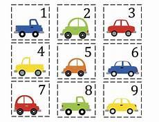 vehicles worksheet for preschool 15244 preschool car printables number cards 1 50 for pocket charts preschool printables