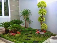 Desain Taman Taman Minimalis Rumah Cluster