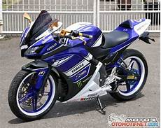 Yamaha Xabre Modif Fairing by Foto Modifikasi New Yamaha Vixion Biru Fairing