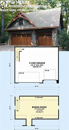 house plans with bonus rooms above garage plan 14630rk rugged garage with bonus room above garage