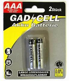 24 x aufladbare batterien akku accu batterie 550 mah aaa