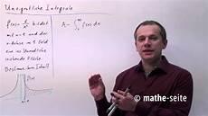 uneigentliche integrale berechnen beispiel 1 a 18 05