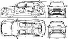 Mitsubishi Outlander Abmessungen - the blueprints blueprints gt cars gt mitsubishi