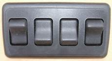 4 off rv 12 volt light switch motor home cer travel trailer marine black ebay
