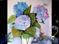 214 lmalerei acrylmalerei aquarelle blumen