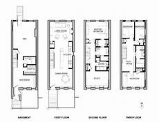 brownstone house plans delson or sherman architects pceast harlem brownstone