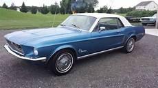 ford mustang 6 coupe find used 1968 ford mustang coupe no reserve 6 cylinder