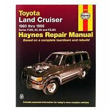 manual repair free 1994 toyota land cruiser navigation system service repair manuals for toyota land cruiser for sale ebay