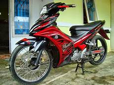 Modifikasi Yamaha Mx by At In Modifikasi Yamaha Jupiter Mx Dual Muffler Keren Abis
