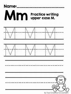 worksheets letter mm 24272 letter m alphabet practice writing practice lettering student learning