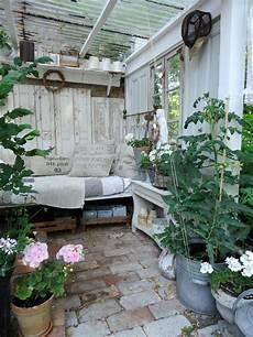 Pflanzzimmer Gartenzimmer Eingerichtet Im Shabbychic