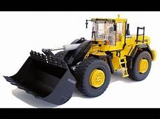 lego technic motorized volvo l250g wheel loader with