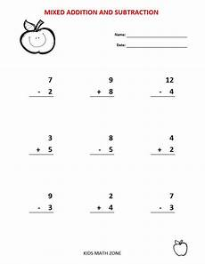 worksheets for grade 1 addition and subtraction 9399 addition subtraction 60 printable worksheets with single and digit grade 1 2
