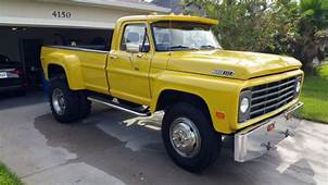 1967 Ford F 600 Custom Truck 54L V8 4 Spd Trans 2