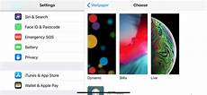 iphone dynamic wallpaper setting how to use live wallpapers on your iphone
