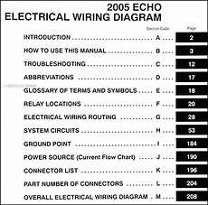 vehicle repair manual 2003 toyota echo engine control 2005 toyota echo wiring diagram manual original