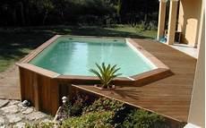 couloir de nage hors sol bois le piscine hors sol en bois 50 mod 232 les archzine fr