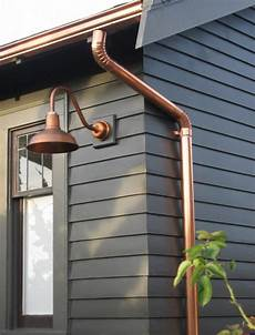 copper gooseneck lighting for 1920s craftsman style home blog barnlightelectric com