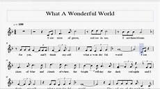 what a wonderful world violin sheet music youtube