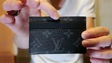 louis vuitton unboxing porte cartes monogram