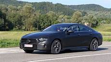 2018 Mercedes Cls Spied With Less Camo Than Before