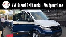 Vw Grand California 600 680 2019 Weltpremiere Caravan