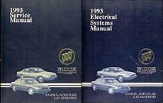 car repair manual download 1993 buick park avenue regenerative braking 1993 buick park avenue ultra and le sabre repair shop manual original set
